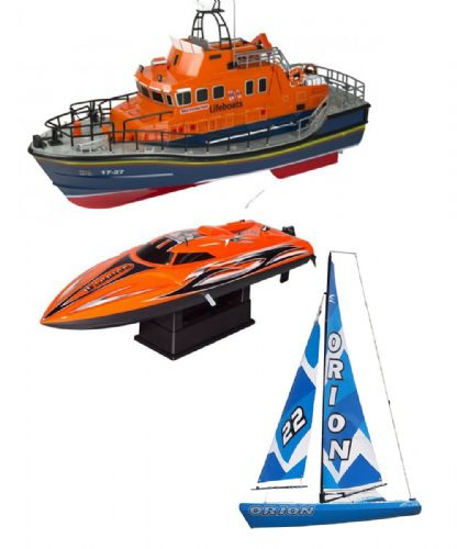 Model and RC Power Boats